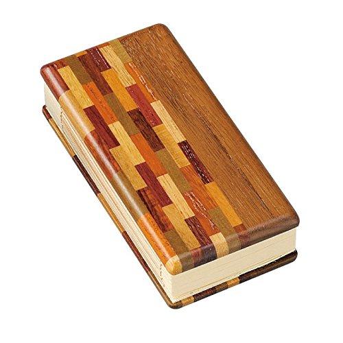 国産仏具 家具調用仏具 現代仏具 寄せ木モダン過去帳 3.0寸 とわライト B07D155BS8とわライト
