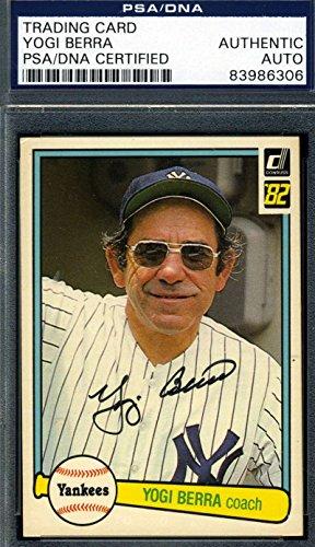 Yogi Berra Hand Signed - 1