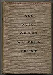 All quiet western front erich maria remarque use camarader