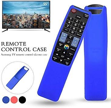 Caja de Control Remoto, Protector Shell Control Remoto Protector Flexible Bn59-01242A Silicona Protectora a Prueba de Golpes para Samsung Smart TV Blue: Amazon.es: Electrónica