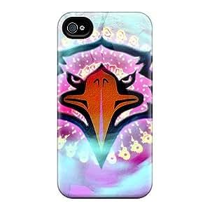 New Tpu Hard Case Premium Iphone 4/4s Skin Case Cover(new Eagle)