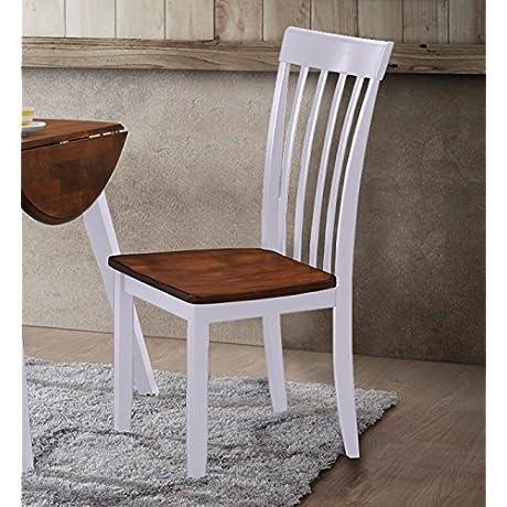 Hommax Furniture Slat Back Hardwood Dining Chairs