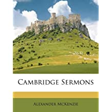 Cambridge Sermons