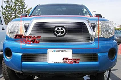 Fits 05-10 Toyota Tacoma Main Upper Billet Grille Insert