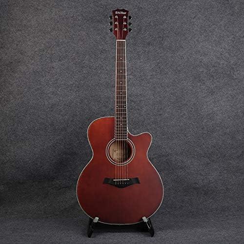 XUJJA - Guitarra acústica para Principiantes (101,6 cm), Color ...