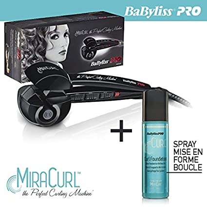 Babyliss pro-Plancha de pelo Miracurl BAB2665E curl the Perfect máquina curl foundation ml spray