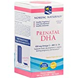 Nordic Naturals - Prenatal DHA, Supports Brain Development in Babies During Pregnancy and Lactation, 180 Soft Gels (FFP)
