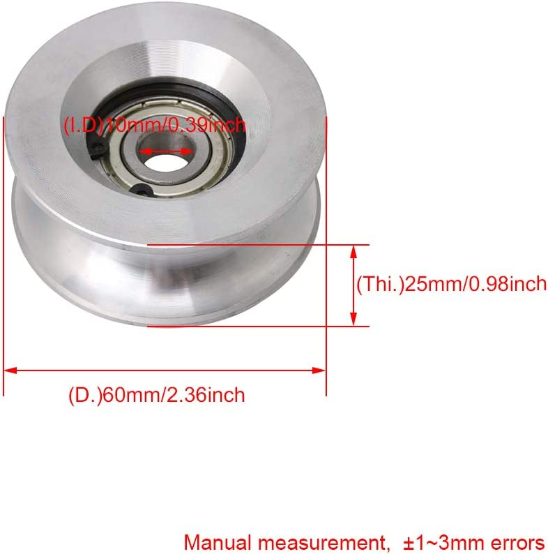 Mechanical Power Transmission Guide Bearing Pulley Roller Wheel ...