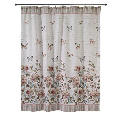 Avanti Linens Butterfly Garden Shower Curtain from Avanti Linens