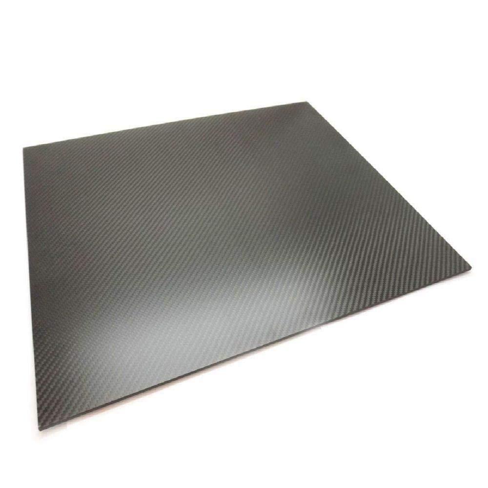 OTOTEC Placa de Fibra de Carbono 3K de 0,5-2 mm de Grosor 0.5mm