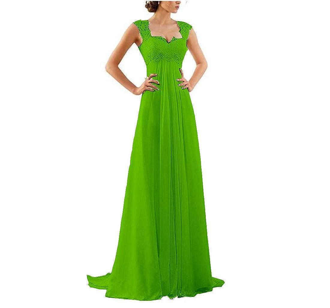 Honeydress Womens Sleeveless Lace U Neck Wedding Dresses Trailing Honeyclothing Dress Chiffon Ball Gown Clothing Accessories