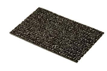 deutsches Qualit/ätsprodukt 1,5 m L/änge, anthrazit rutschfeste Granulat Beschichtung 120 cm Breite etm/® Sicherheitsmatte gegen Gl/ätte viele Farben und L/ängen