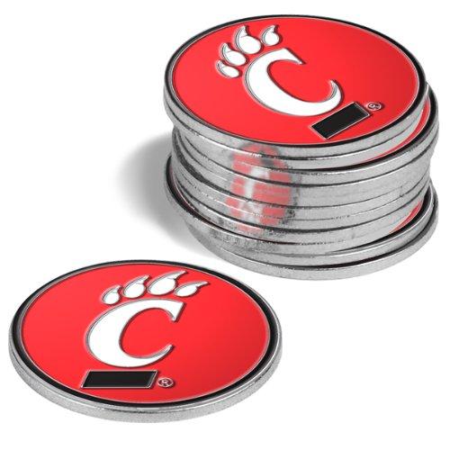 (NCAA Cincinnati Bearcats - 12 Pack Ball Markers)