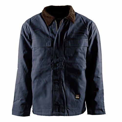 Men's Berne Apparel Regular Original Chore Coat, NAVY, 5XLT