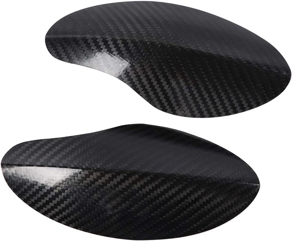 Plastic Trim Cover Protection for Yamaha Xmax 300 KIMISS 1 Pair Motorcycle Patch Carbon Fibre Scratch-resistant Protector Direct Fit Accessory