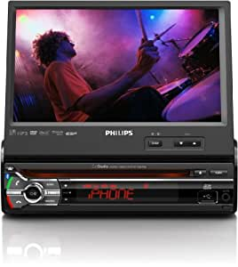 Philips CED780/55 receptor multimedia para coche - Radio para coche (MP3, WMA, AM, FM, Dolby Digital, LCD, Negro, SD, SDHC)