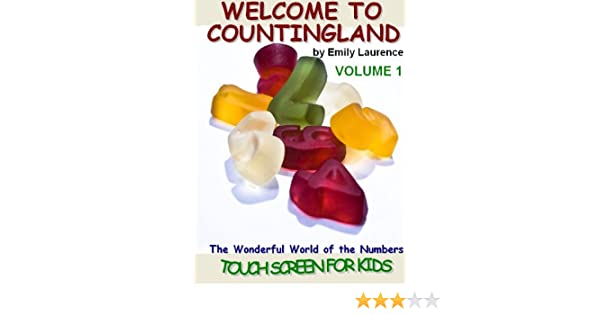 WELCOME TO COUNTINGLAND - The Wonderful World of the NUMBERS - Touch Screen for KIDS