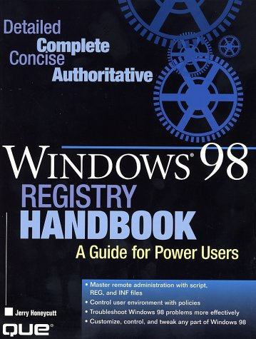 Windows 98 Registry Handbook by Brand: Que