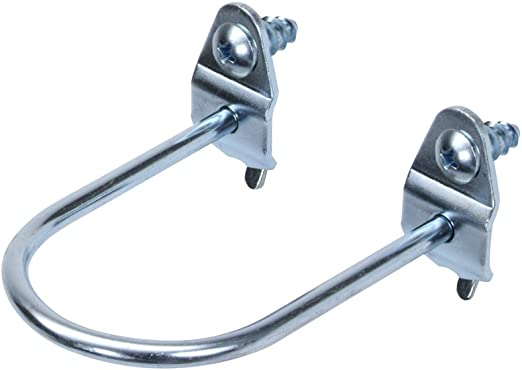 Zinc Plated Steel Tool Holder for DuraBoard or 1//8 Inch and 1//4 Inch Pegboard 10-Pack Triton Products 74212 DuraHook 1-7//8-Inch Double Ring 3//4-Inch I.D