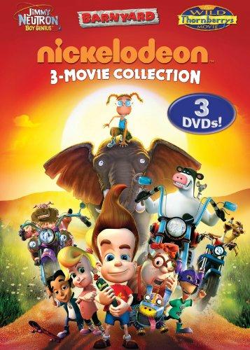 Nickelodeon Three-Movie Collection (Jimmy Neutron: Boy Genius / Barnyard / The Wild Thornberrys Movie)