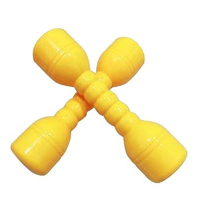 Isuper Pesas para niños,Pesas Mancuernas plástico Ejercicio y Fitness para niños juquete eduvativo para