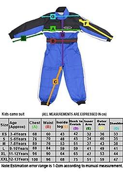 Leopard CUB Kids Children Motorbike Motocross 1PC Suit 12-13 Years Blue XXL ATV Dirt Quad Bike Karting Overall Clothing