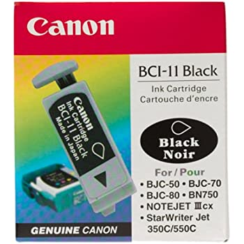 Canon BCI-11 Black Ink Cartridge-3 Tanks
