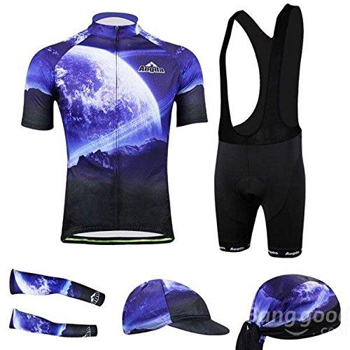 Moppi Ropa de ciclismo 3d bicicleta sportwear traje de ciclismo