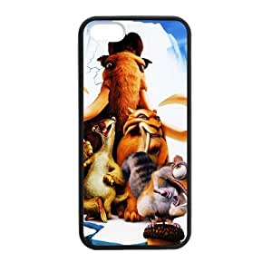 iPhone 5 Case, [Ice Age] iPhone 5,5s Case Custom Durable Case Cover for iPhone5 TPU case(Laser Technology)