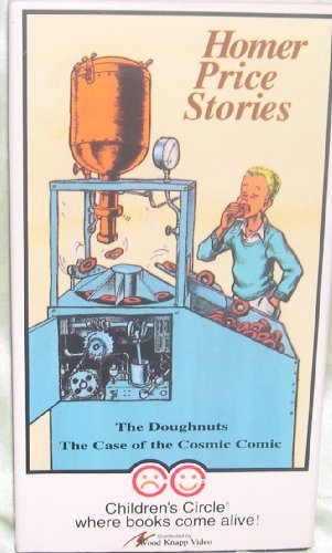 Homer Price Stories: The Doughnuts & The Case of the Cosmic Comic [VHS]