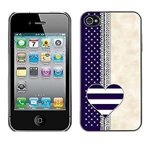 X-ray Impreso colorido protector duro espalda Funda piel de Shell para Apple iPhone 4 / iPhone 4S / 4S - Notebook Blue Beige White