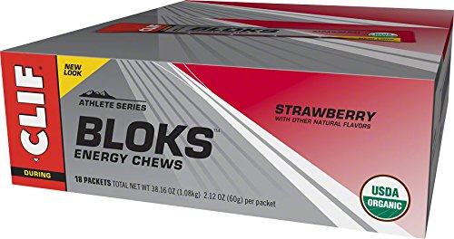 Clif, Shot Bloks Strawberry 2.12 Ounce, 18 ()