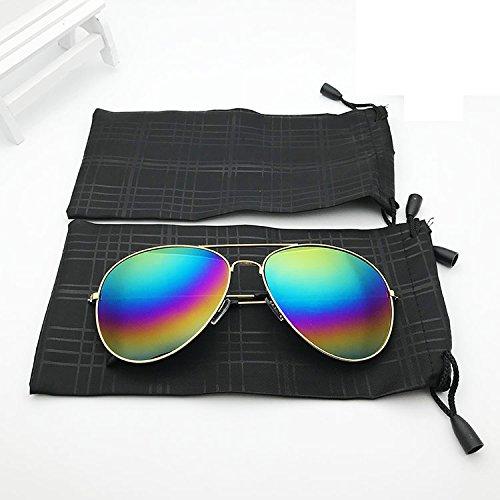 Kentop 10Pcs Brillenbeutel Microfiber Brillenetui Brillen Beutel Wasserdicht Sonnenbrillen Tasche Bunt Aufbewahrungstasche Drawstring Tasche