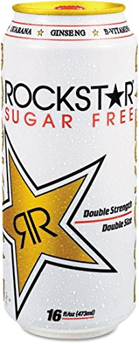 16 Ounce Sack (ROCKSTAR Energy Drink, Diet 16 fl oz (473 ml))