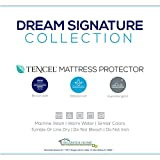 Dream Signature Collection Smooth Tencel Mattress Protector, Twin X-Large
