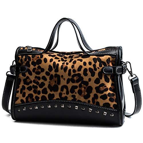 Rivet Chain Bags Faux...