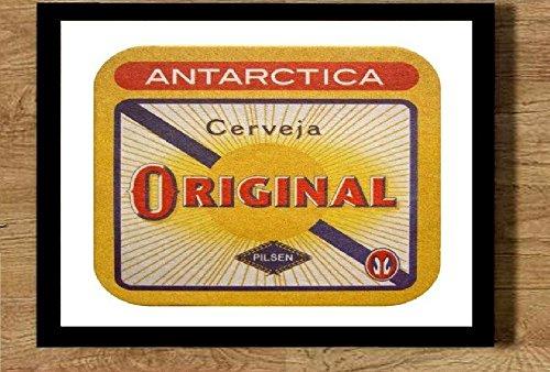 Quadro com moldura 21x30cm cerveja Original
