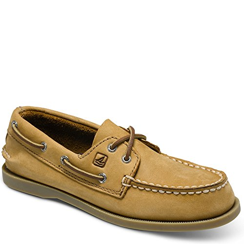 Toddler Top Sperry (Sperry Authentic Original Boat Shoe (Toddler/Little Kid/Big Kid),Sahara,12 M US Little Kid)