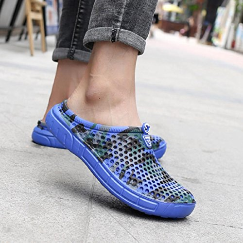 Male Slipper Quick Blue Saihui Men Breathable Drying Flat Shoes Outdoor Summer Beach Sandals CUwvw5qX