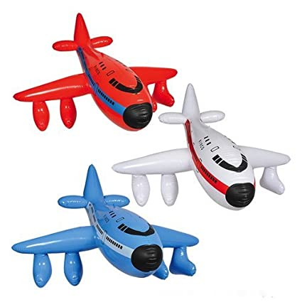 Amazon.com: Juego de 3 inflable aviones/Jumbo Jet/747/infla ...