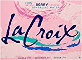 La Croix Sparkling Water, Berry, 12 ounce Can (Pack of 12)