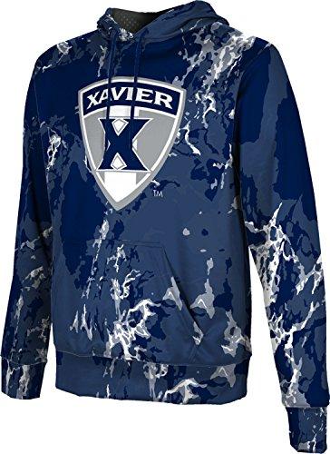ProSphere Xavier University Men's Hoodie Sweatshirt - Marble FABA2 - Fabric Xavier Fleece University