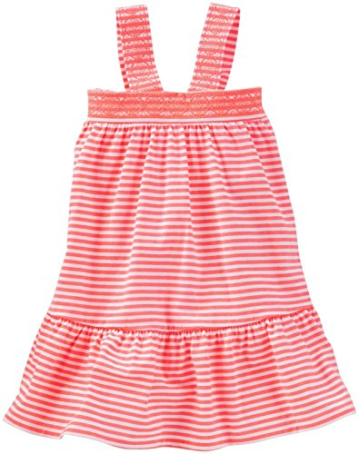 Oshkosh Kids Dress (OshKosh B'Gosh Girls' Knit Dress 21155210, Stripe, 3T)