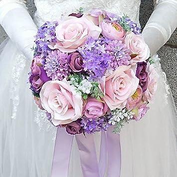 Wanglele Hochzeit Blumen Blumenstrausse Hochzeit Polyester 9 84