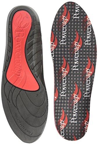 (Powerstep Powerstep Comfortlast Full Shoe Inserts, Black, 9-10.5 M / 11-12 W US)