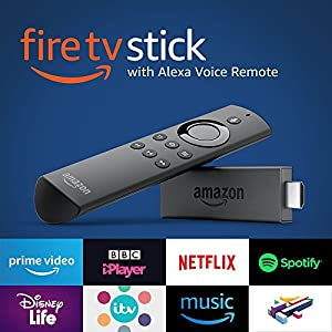 Fire TV Stick with 1st Gen Alexa Voice Remote | Streaming Media Player