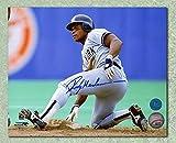 Rickey Henderson New York Yankees Autographed Stolen Base 8x10 Photo - Autographed MLB Photos