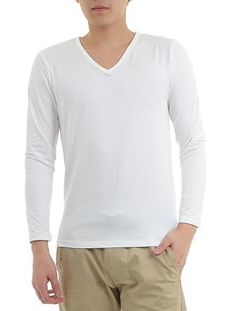 Amazon | NANA メンズ スマート裏起毛あったか 長袖Tシャツ インナー 防寒 保温 下着 肌着 冬 | インナーシャツ 通販