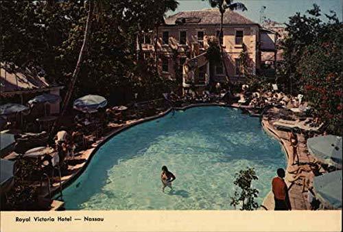 (Royal Victoria Hotel Nassau, Bahamas Original Vintage Postcard)