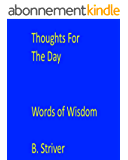 Thoughts for the Day: Words of Wisdom (English Edition)